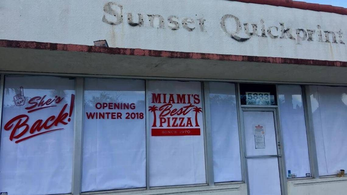 COMING SOON: Miami's Best sets up at the new Ponce de Leon location.