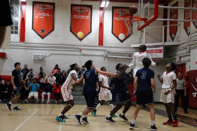 Gables Basketball vs Columbus