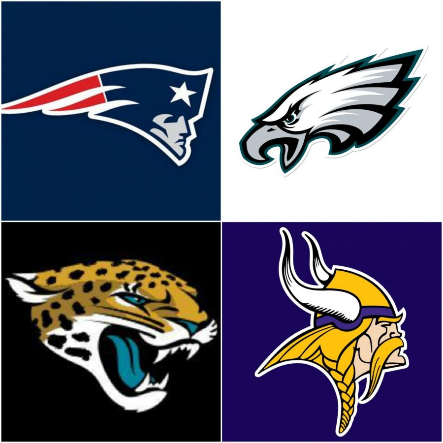 The final four teams in the NFL are set to compete in their conference championships; the winners will advance to the Super Bowl.