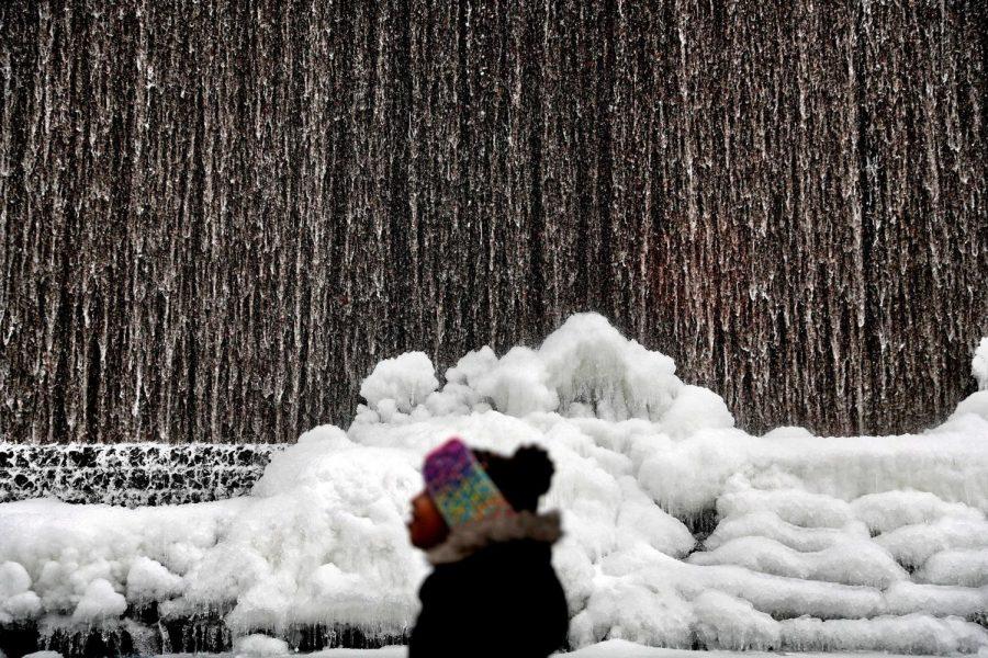 Nieve en Atlanta, Georgia