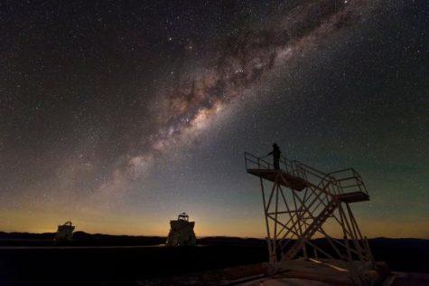 Más allá de la galaxia Milky Way