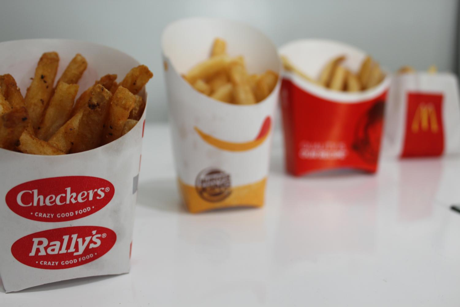 Checkers are the best fries in the fast food industry.