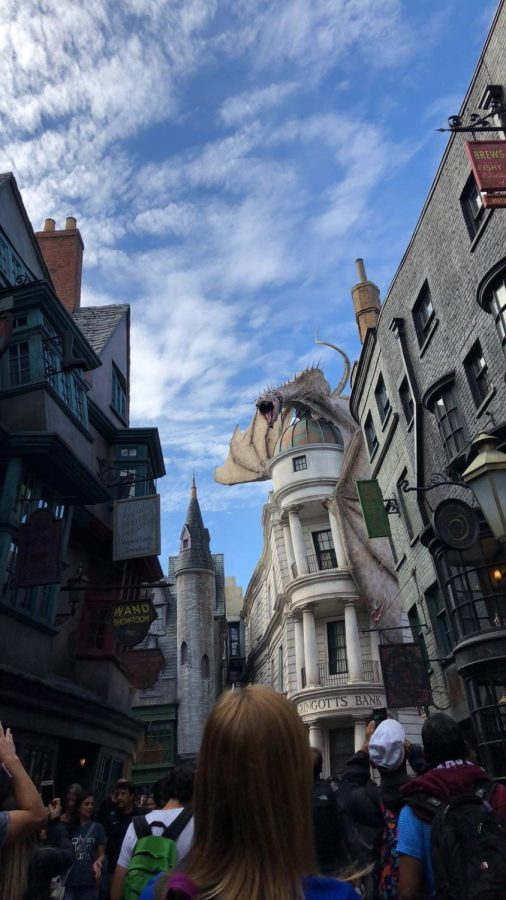 Diagon Alley at Universal's Islands of Adventures.