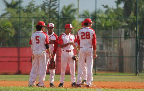 Boys Baseball Strikes out Beach 4-3