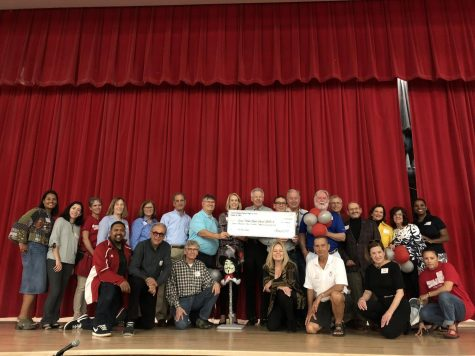 Class of '67 Donates $16,000 to their Alma Mater