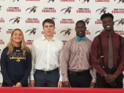 A Glimpse of What is Next: College Signing for Class of 2018