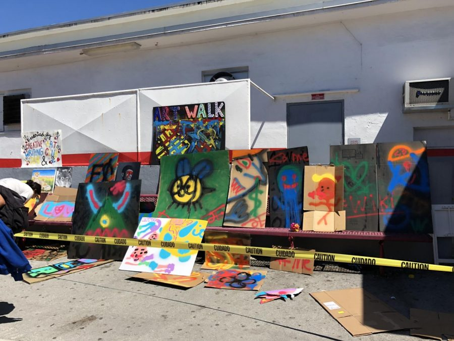 Gables' Art Walk was created to showcase the  creativity  within  the student body.