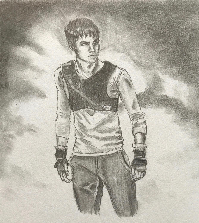 Dylan O'Brien is The Maze Runner