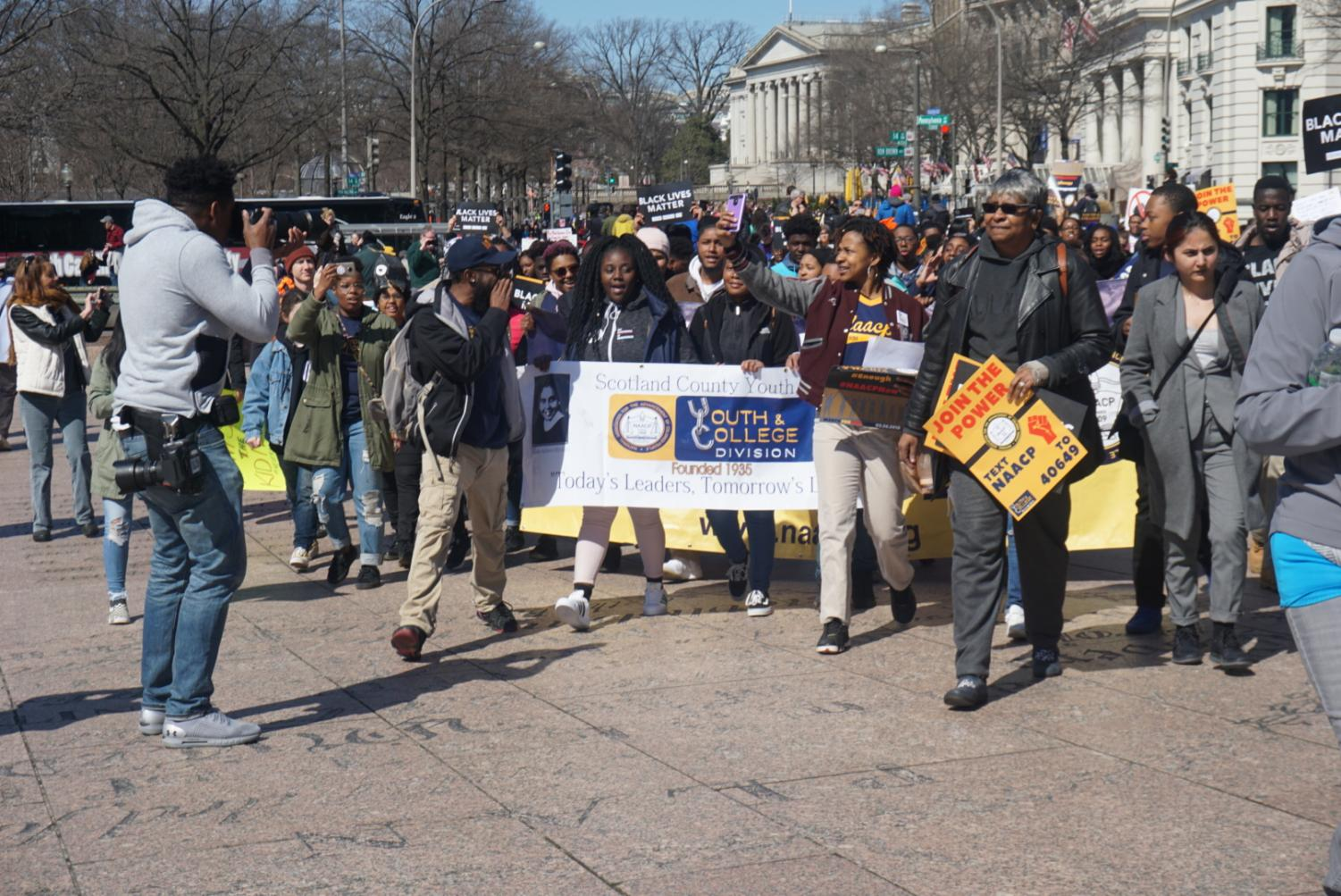 Gables+students+attend+the+Washington+D.C.+March+for+Our+Lives+event.