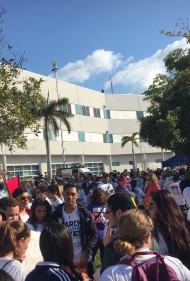 Miami Beach March for Our Lives.