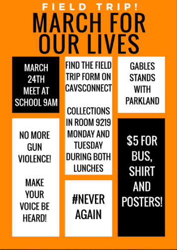 March for Our Lives Field Trip Form