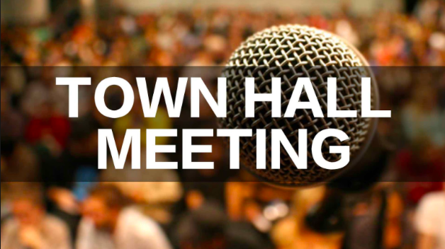 There will be a town hall meeting in the Coral Gables Senior High auditorium.