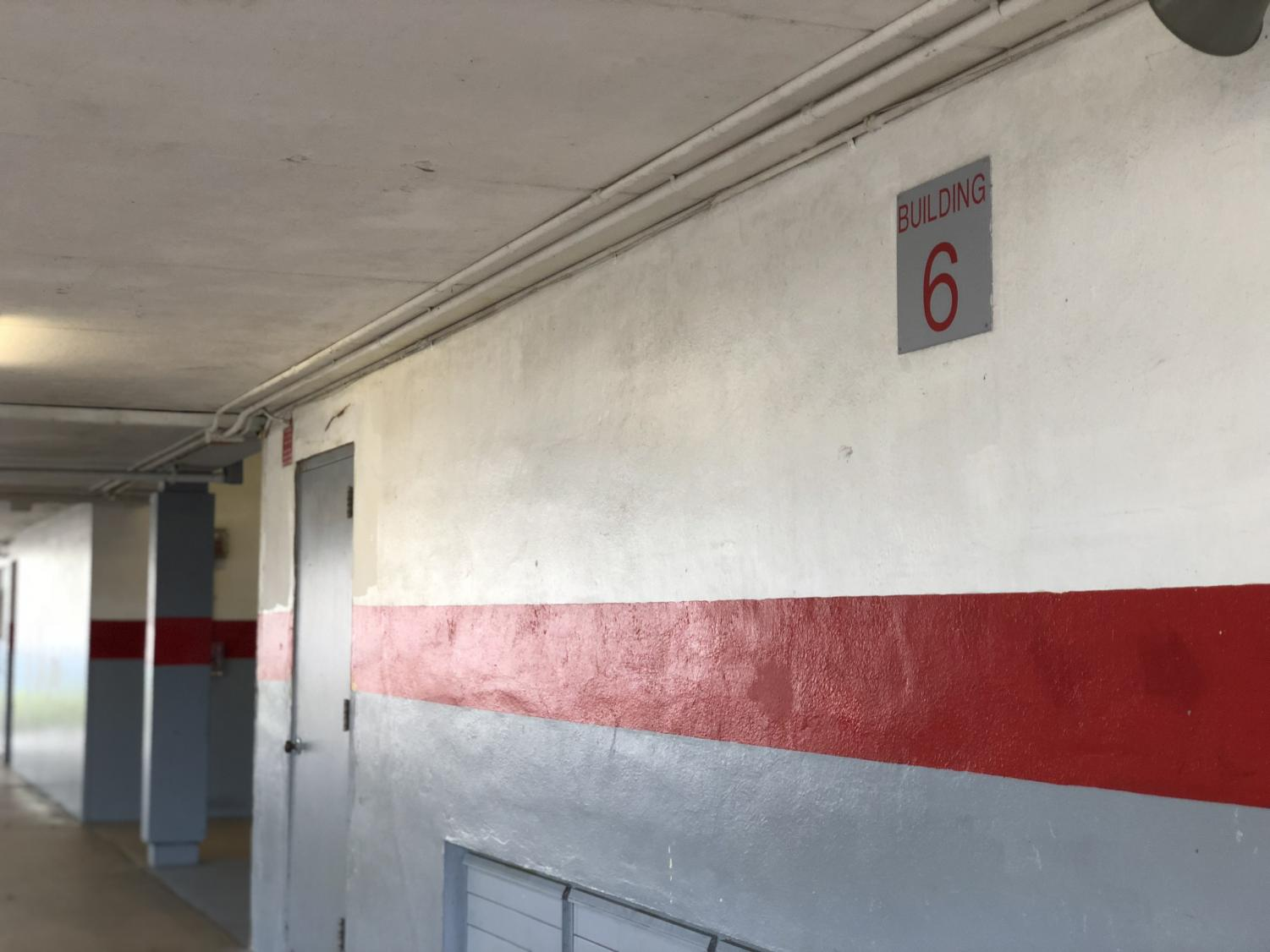 Building 6 will be one of the sites to receive renovations.