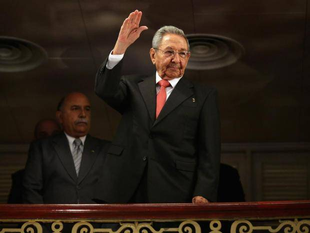 Raul Castro resigns as president of Cuba.