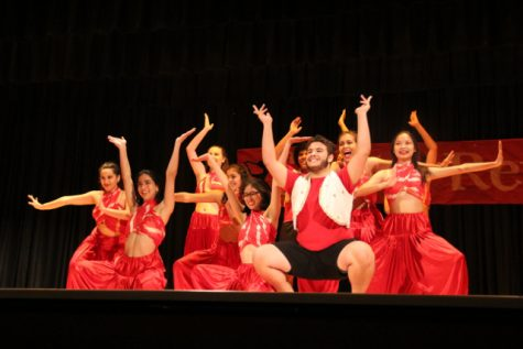 Gables' Bhangra team also performed at the Gablette Revue.