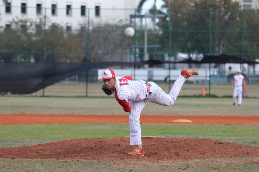 Cavalier Baseball Takes a Loss Against Coral Park