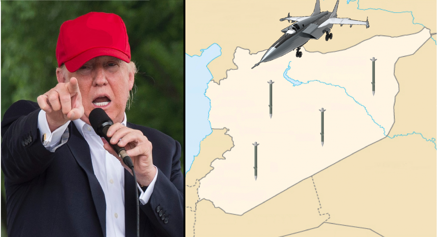 President Trump has declared that there will be consequences for the Syrian government's actions, but what response is appropriate?