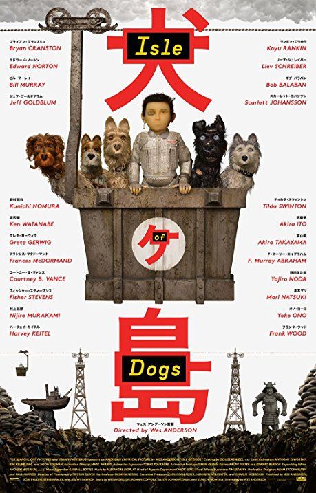 Isle of Dogs, a Wes Anderson film