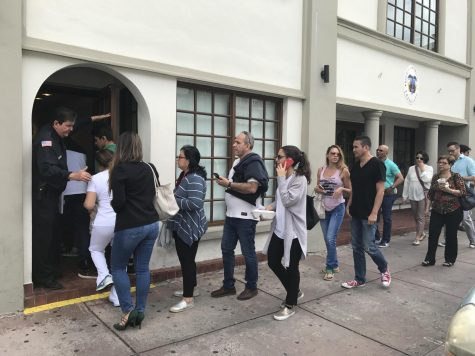 Miamians prepare for the upcoming Colombian presidential election
