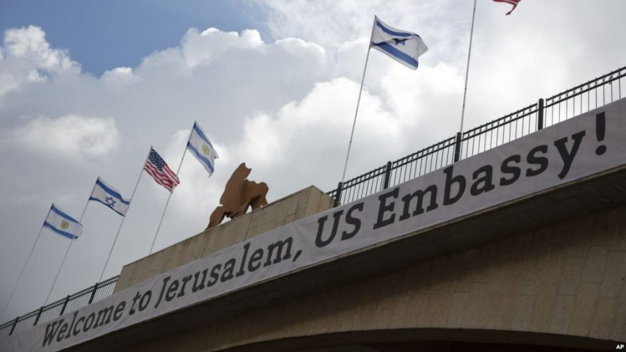 U.S. Government Relocates Embassy from Tel Aviv to Jerusalem