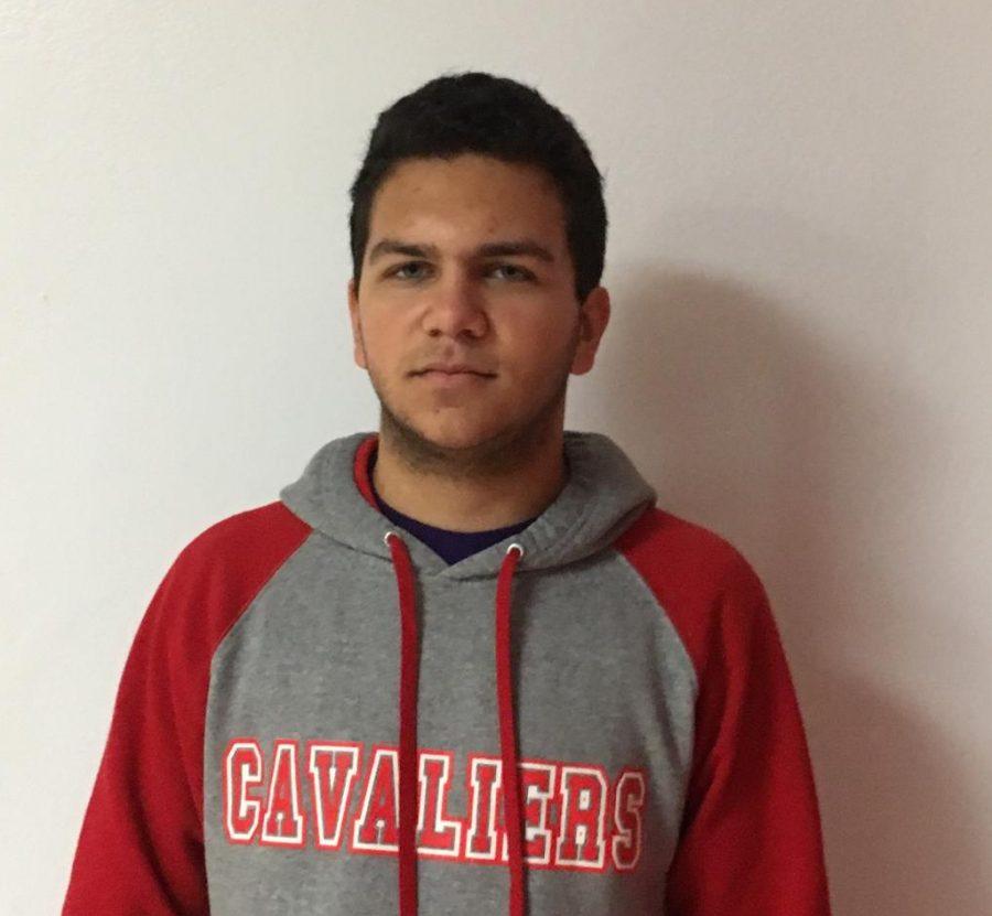 sophomore Thomas Morcillo
