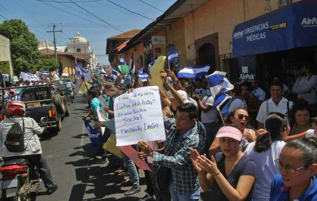 Reforma en Nicaragua resulta en protesta