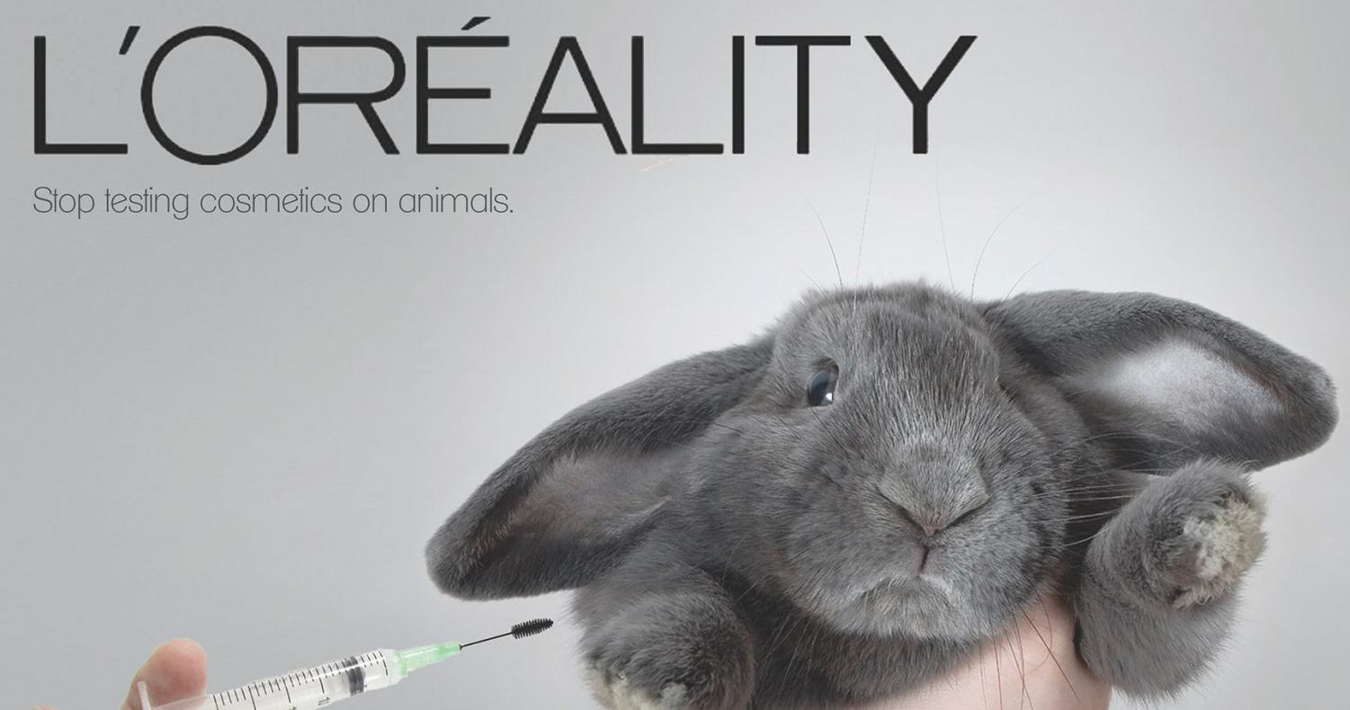 Well-known brand L'oreal is still listed by PETA as a production company that tests new products on animals.