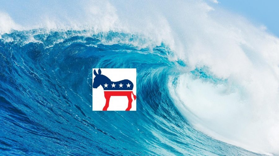 A blue wave of heavy democratic voting in the midterm elections may or may not be coming.