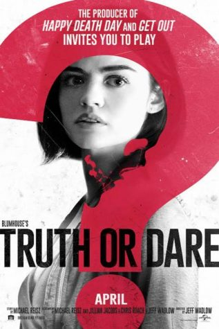 Lucy Hale starred in Truth or Dare which came out on April 13.