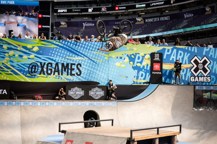 The+Summer+X+Games+2018+were+held+in+Minneapolis+for+the+fourth+year+in+a+row+between+the+days+of+July+19+and+July+22