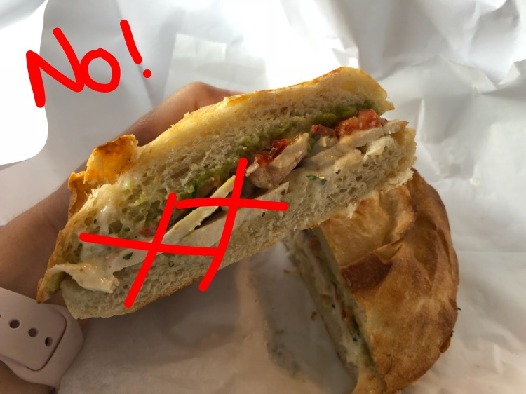 Don't add any poultry in your sandwiches!!