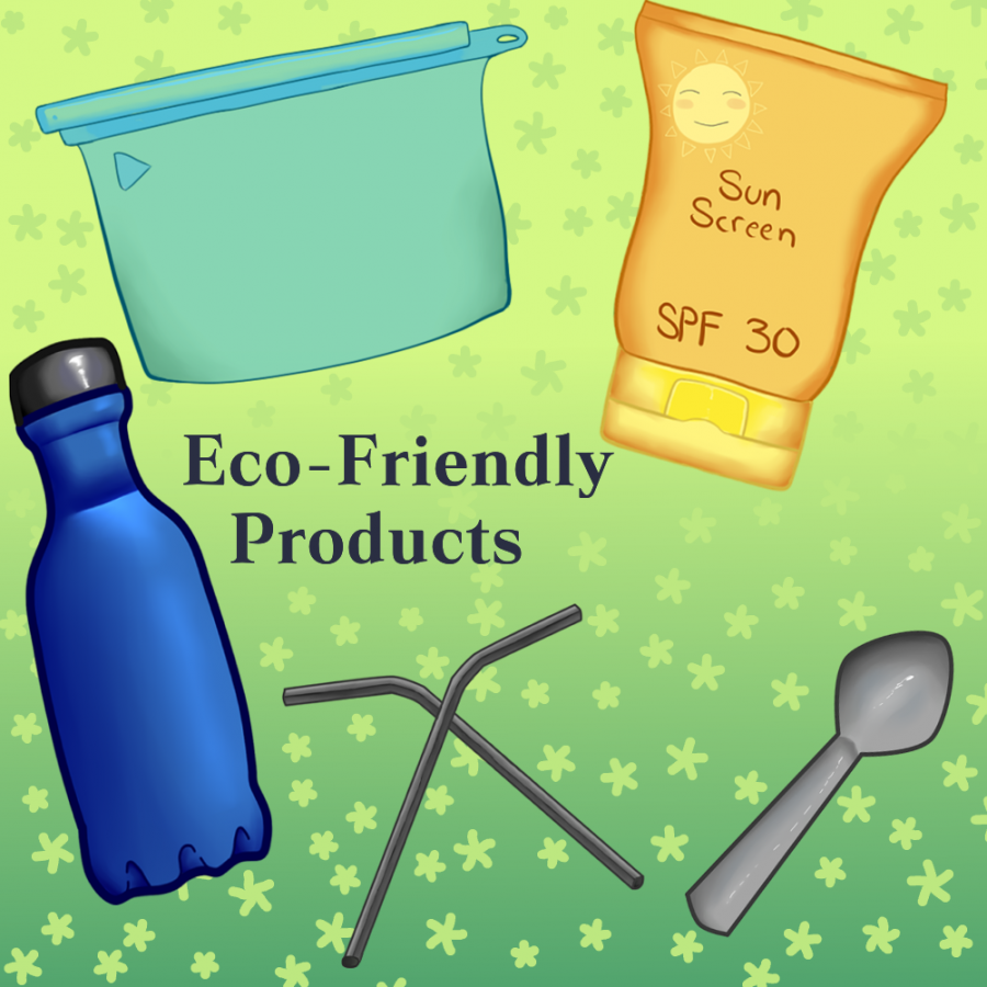 These are some eco-friendly products that students can use on a daily basis.