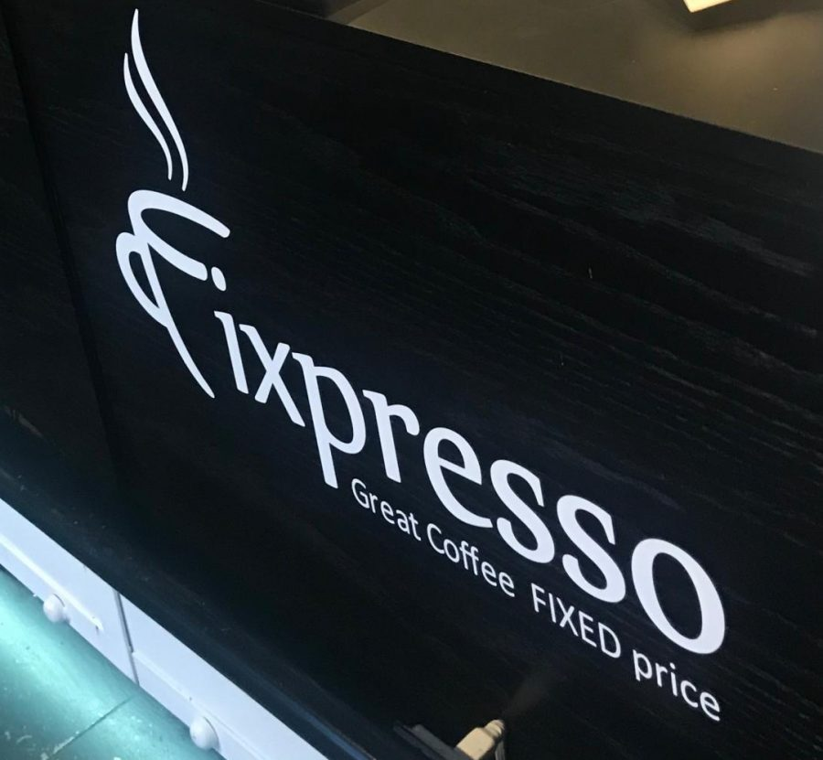 The new Fixpresso café is on Miracle Mile.