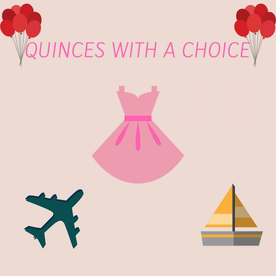 Thinking about what to do for your quinces? You can take a trip, have a party and even go on a cruise!