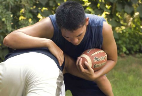 The majority of sports-related concussions amongst males occur in football, where head to head contact is common.