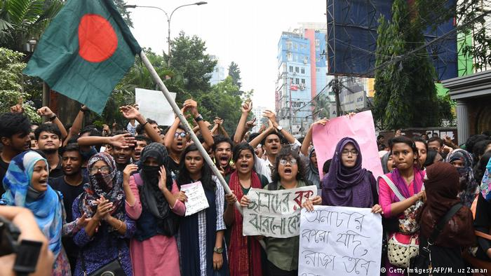 The goal of the week-long protest was to bring safety and security to the roads of Bangladesh.