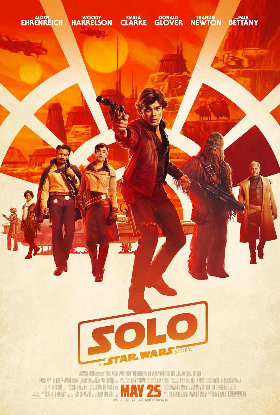 Solo: an awful Star Wars movie, but a great movie movie.