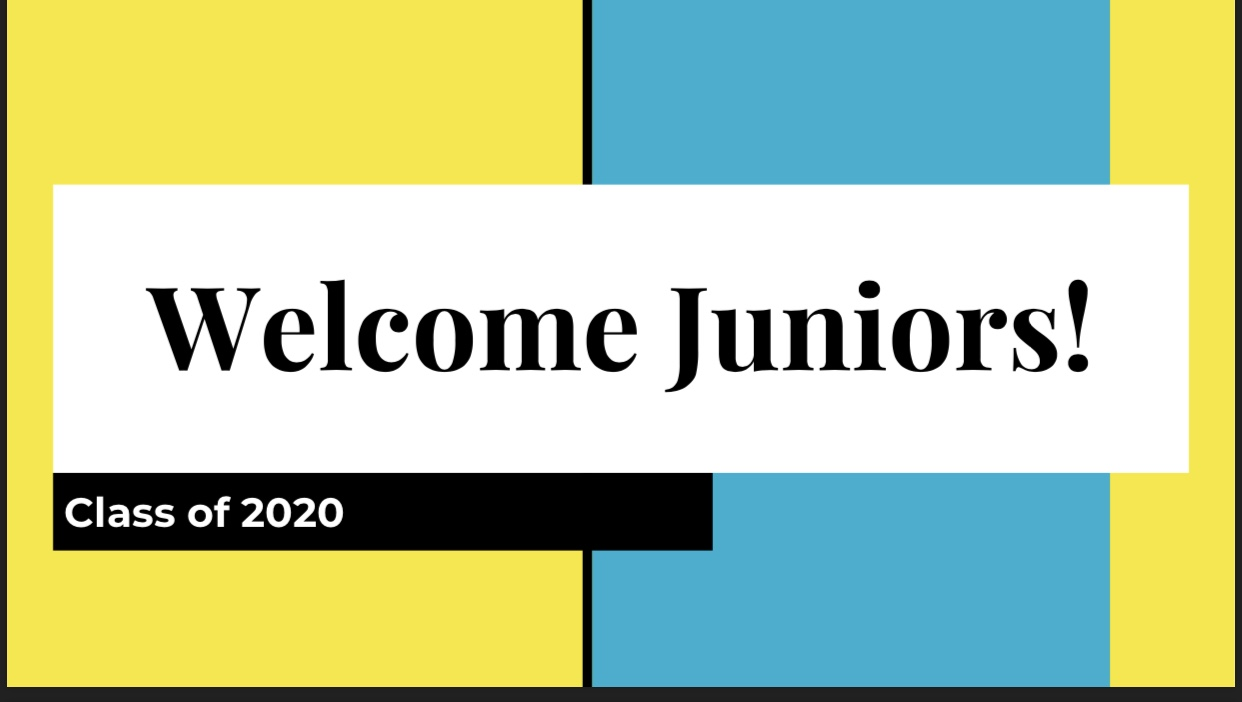 Class of 2020 announcement!