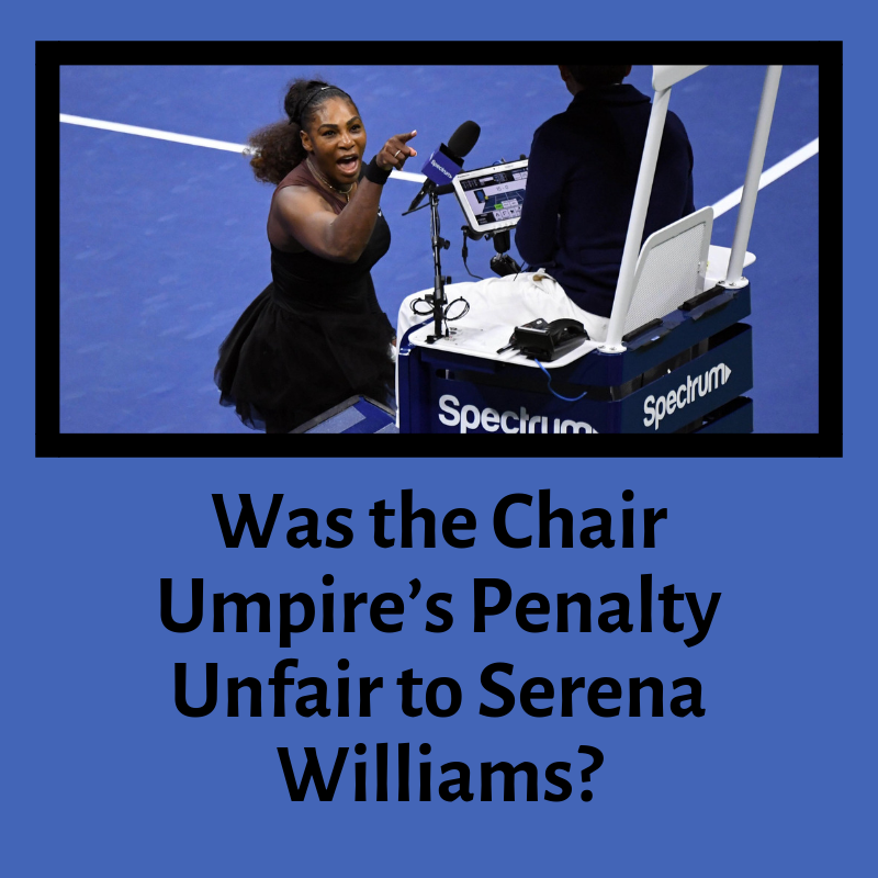 Last saturday marked the 2018 Grand Slam Singles Final, where Serena Williams lost against Naomi Osaka and received a penalty.