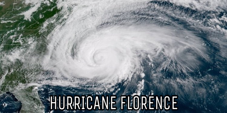 Hurricane Florence Heads Towards the East Coast