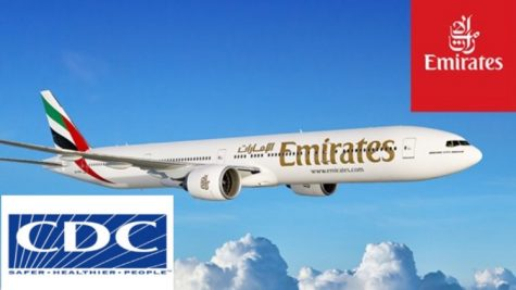 Illness breaks out on Emirates Flight 203.