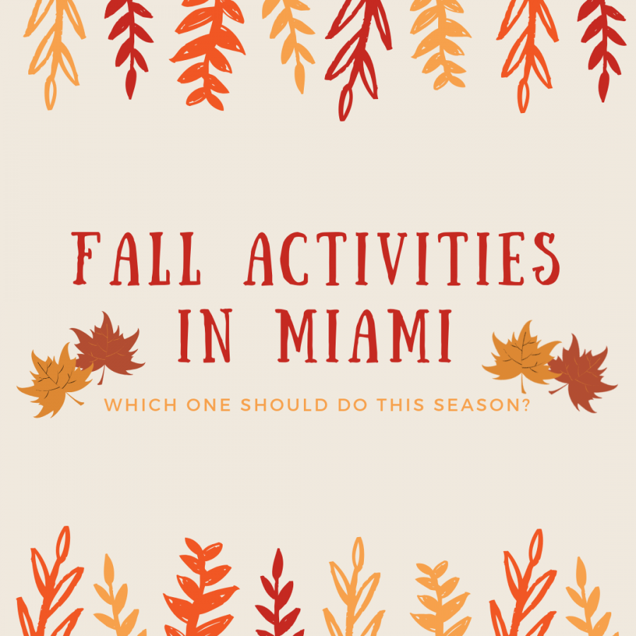 Fall ACTIVITIES in Miami