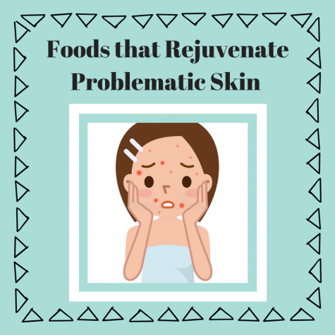 Foods that Rejuvenate Problematic Skin