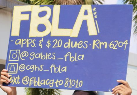 FBLA 2018-19 Application