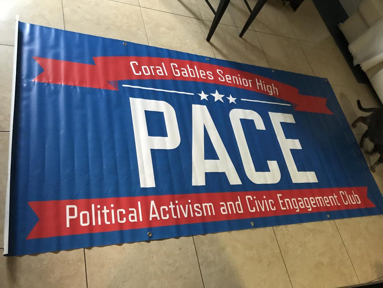 PACE club fair poster.