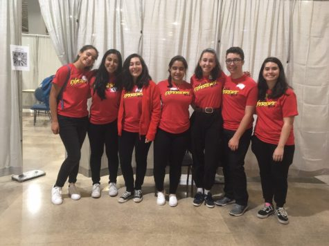 Key Club Attends the WOW Event