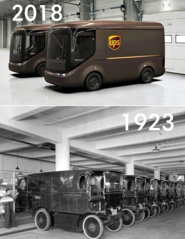 UPS has partnered with Arrival, a vehicle manufacture to create a new UPS electric truck.