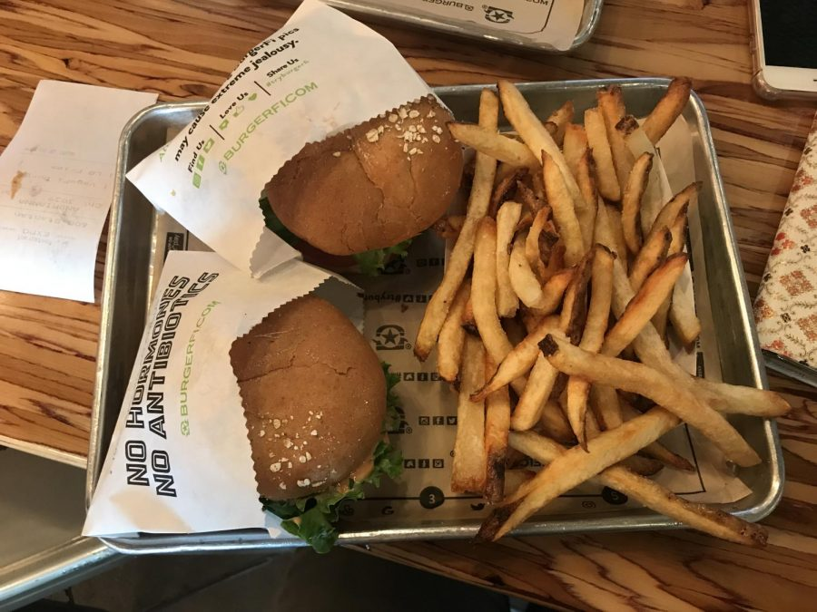 Vegefi+burgers+and+fries+from+BurgerFi.