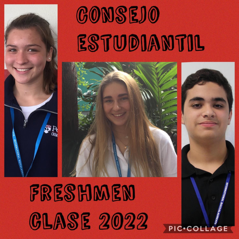 Los candidatos electos para el consejo estudiantil de la clase 2022, fueron Emma Hardie, Lauren Gregorio y David Kuper.