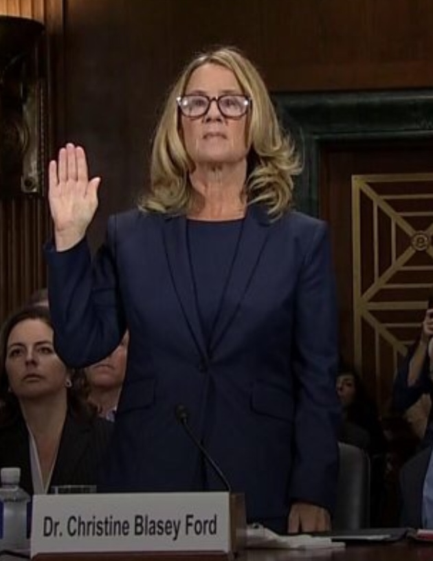 Ford testifies before the United States Senate.